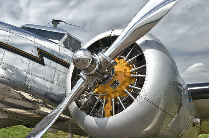 Lockheed 12 used in the movie Amelia, at Sun 'n Fun 2011