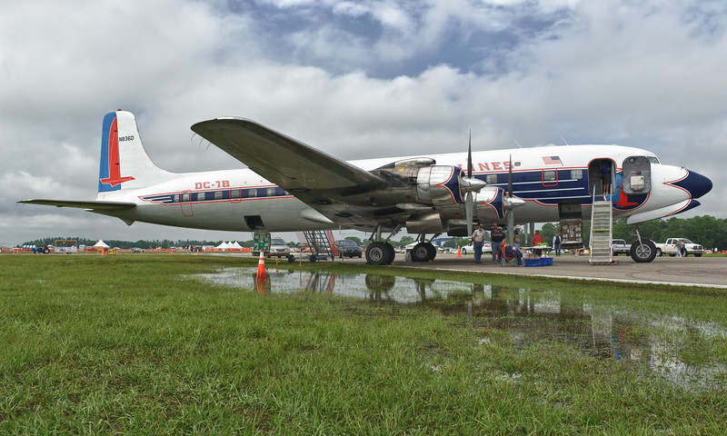 Historical Flight Foundation DC-7B