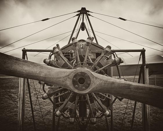 Replica of 1909 Bleriot XI