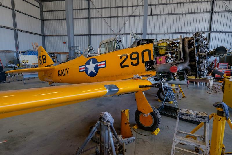 North American SNJ-5 Texan at Camarillo, CA, USA