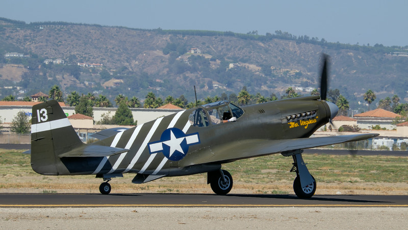 P-51A Mustang at at Camarillo, CA, USA