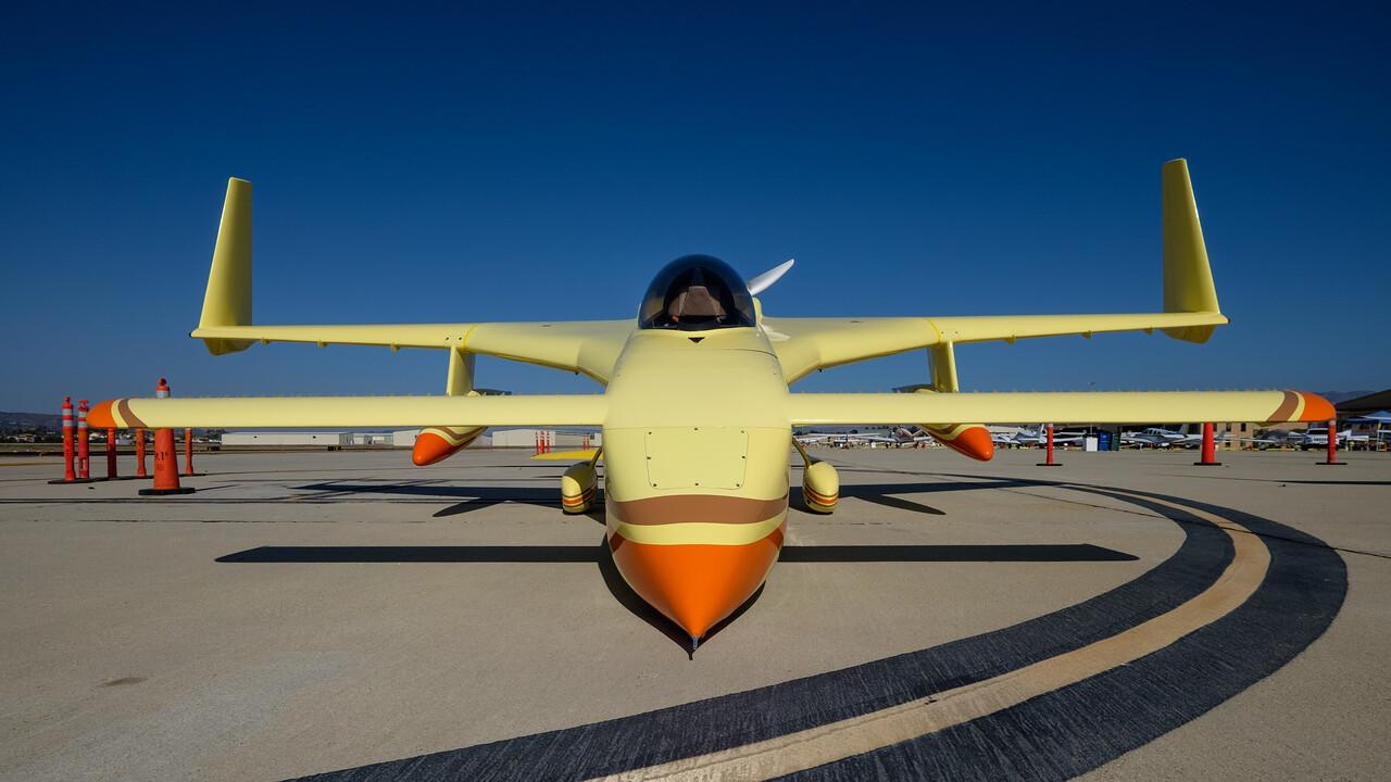 World Record altitude breaker Long-Ez, Camarillo, CA, USA
