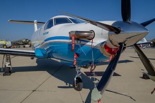 Pilatus PC-12 at Camarillo, CA, USA