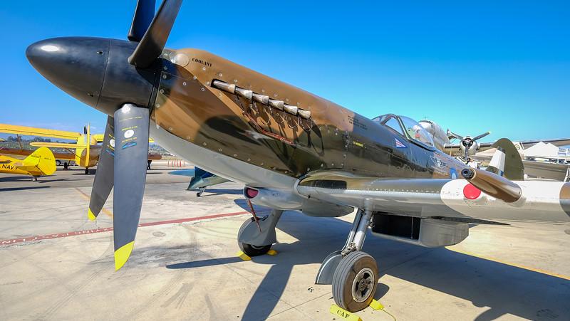 Supermarine Mark XIV Spitfire at Camarillo, CA, USA