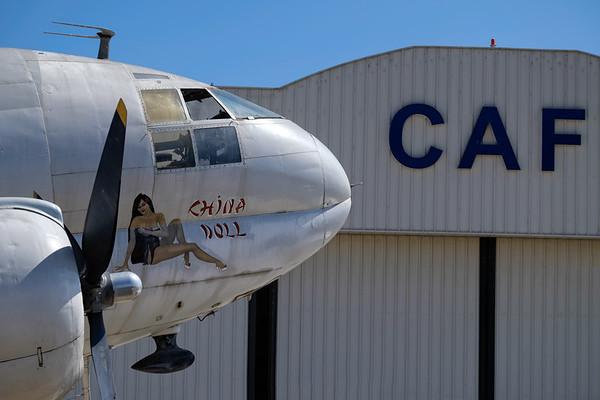 Curtiss C-46 China Doll at Camarillo, CA, USA