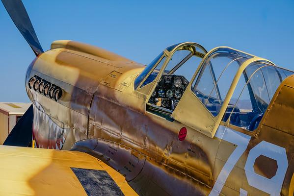 Curtiss P-40N Warhawk at Camarillo, CA, USA