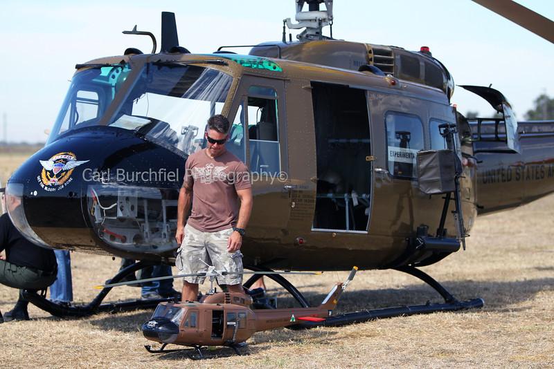 Dan Lowry with EMU 309 Flight Prep