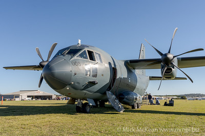 MMPI_20210516_MMPI0082_0181 -  Alenia C-27J Spartan A34-008 of 35SQN RAAF on static display at David Hack Classic 2021 fly-in event.