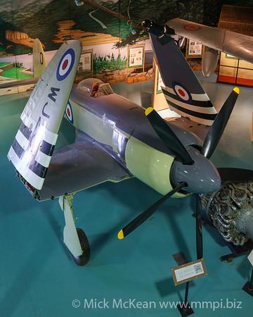 MMPI_20180928_MMPI0051_0025 -  Hawker Sea Fury FB.11 WJ231 on display at the Royal Navy Fleet Air Arm Museum.