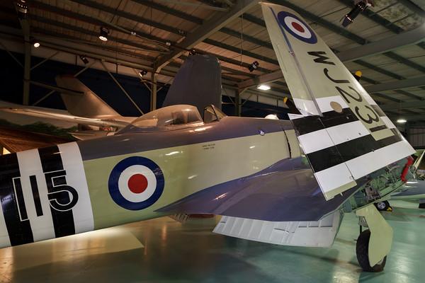 MMPI_20180928_MMPI0051_0026 -  Hawker Sea Fury FB.11 WJ231 on display at the Royal Navy Fleet Air Arm Museum.