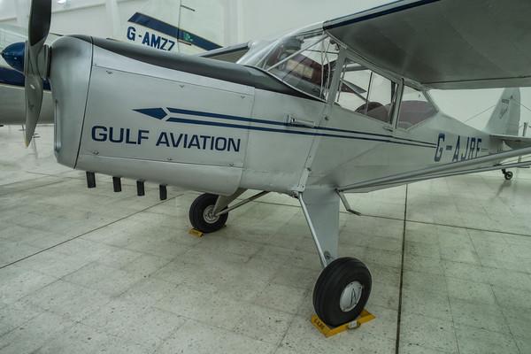 Auster at the Al Mahatta Aviation museum, Sharjah, UAE