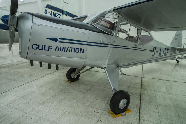 Auster at the Al Mahatta Aviation museum, Sharjah, UAE