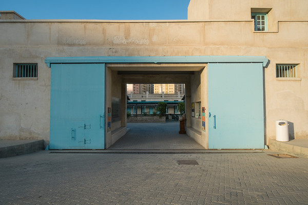 Al Mahatta Aviation museum entrance, Sharjah, UAE