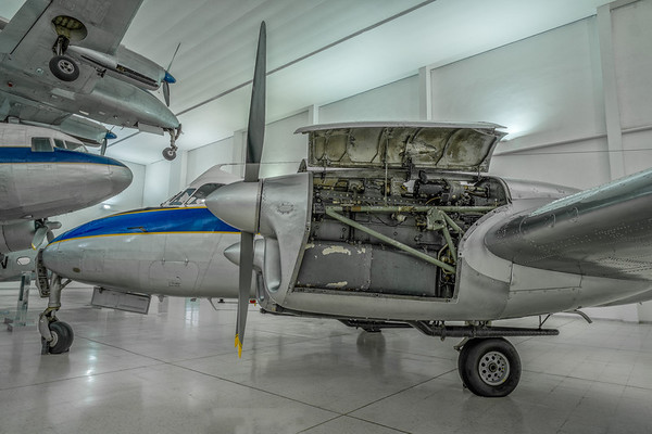 De Havilland Heron at Al Mahatta Aviation museum
