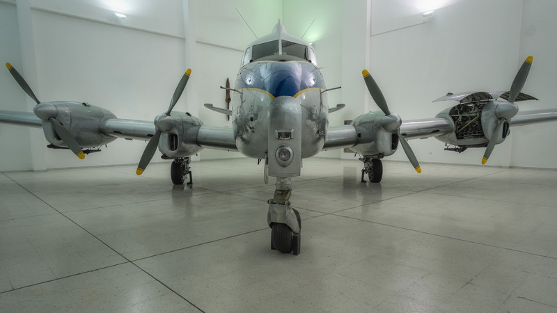 De Havilland Heron at Al Mahatta Aviation museum