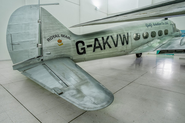 Avro Anson at Al Mahatta Aviation museum