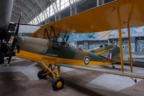 De Havilland DH 82 Tiger Moth II T6534  OO-EVT