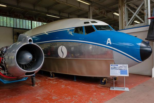Boeing 707-329  OO-SJA (cn 17623/78) ex Sabena