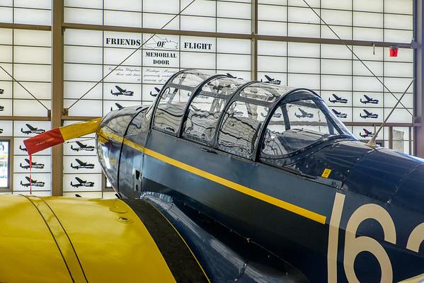 Fairchild Cornell at Canadian Warplane Heritage museum