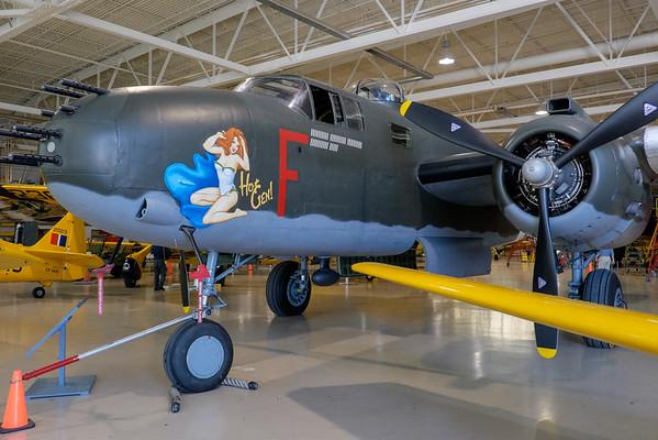 B-25 Mitchell at Canadian Warplane Heritage museum