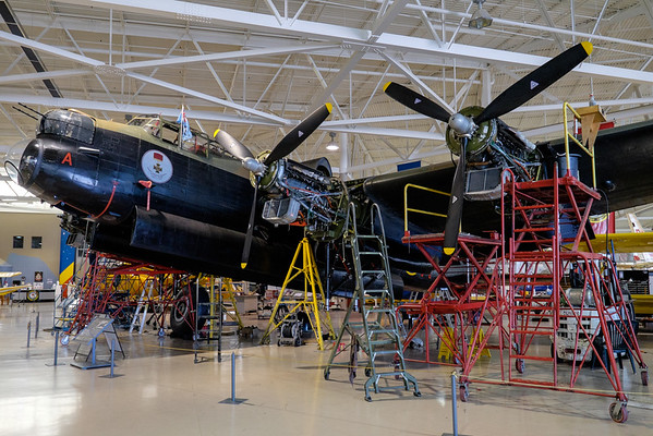 Avro Lancaster at Canadian Warplane Heritage museum