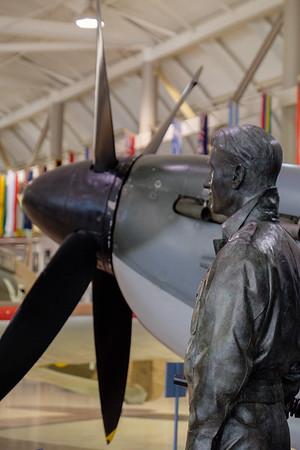 Spitfire at Canadian Warplane Heritage museum