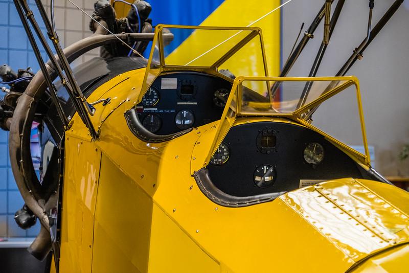 Fleet Finch at Canadian Warplane Museum