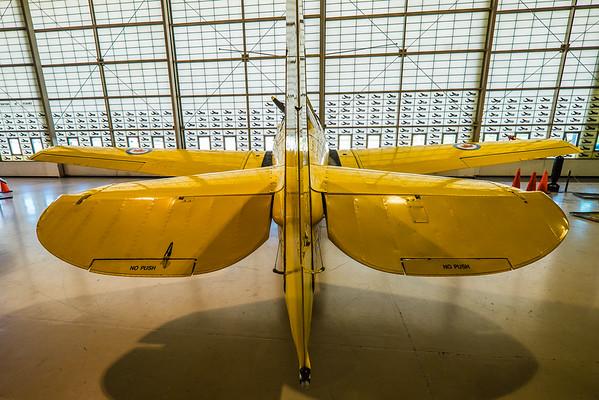 North American Harvard at Canadian Warplane Heritage museum