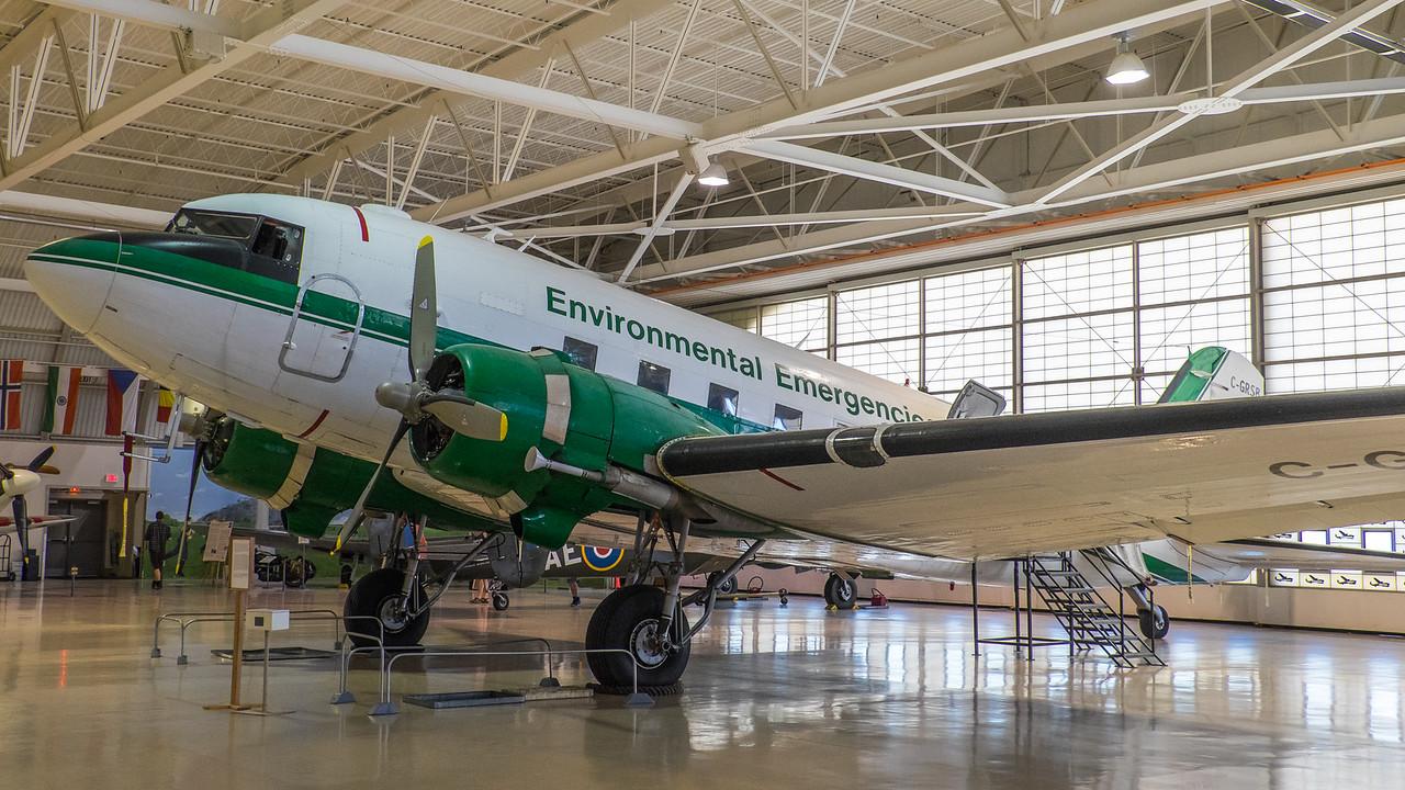 DC-3 at Canadian Warplane Heritage museum