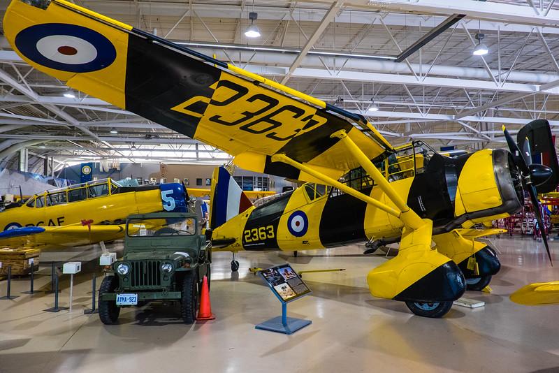 Lysander at Canadian Warplane Heritage museum