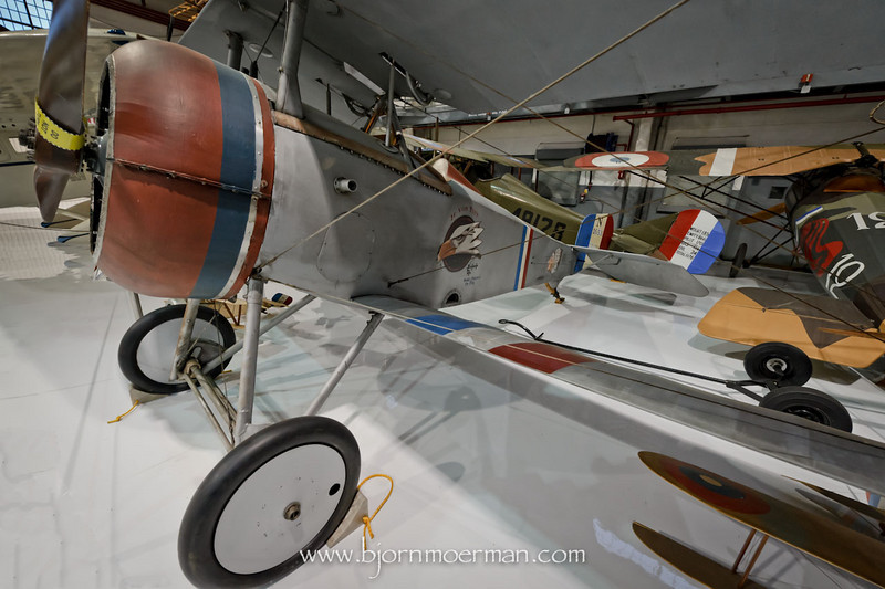 Nieuport 17, French World War 1 fighter used in the movie, Flyboys