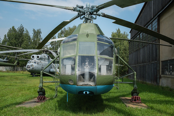 Yak-24 twin rotor helicopter