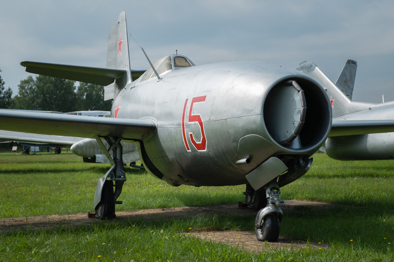 Yak-23 Flora, early jet