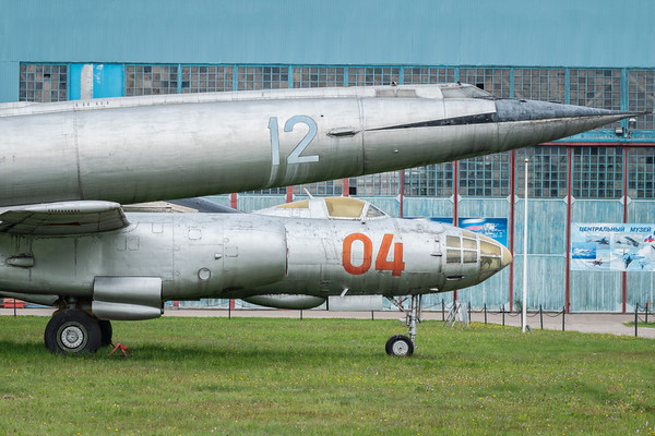 IL-28 Beagle and Myasishchev M-50