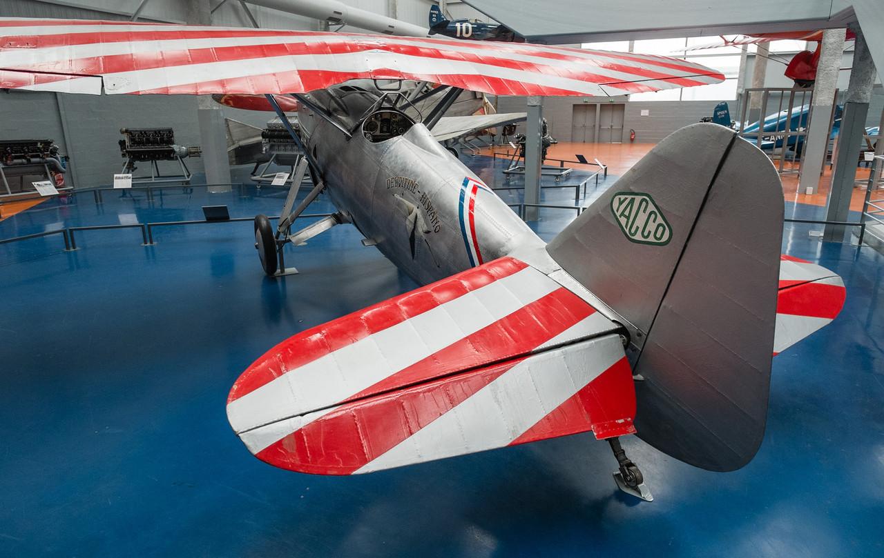 Dewoitine D-530 n°06 F-AJTE at Musée de l'air, Paris