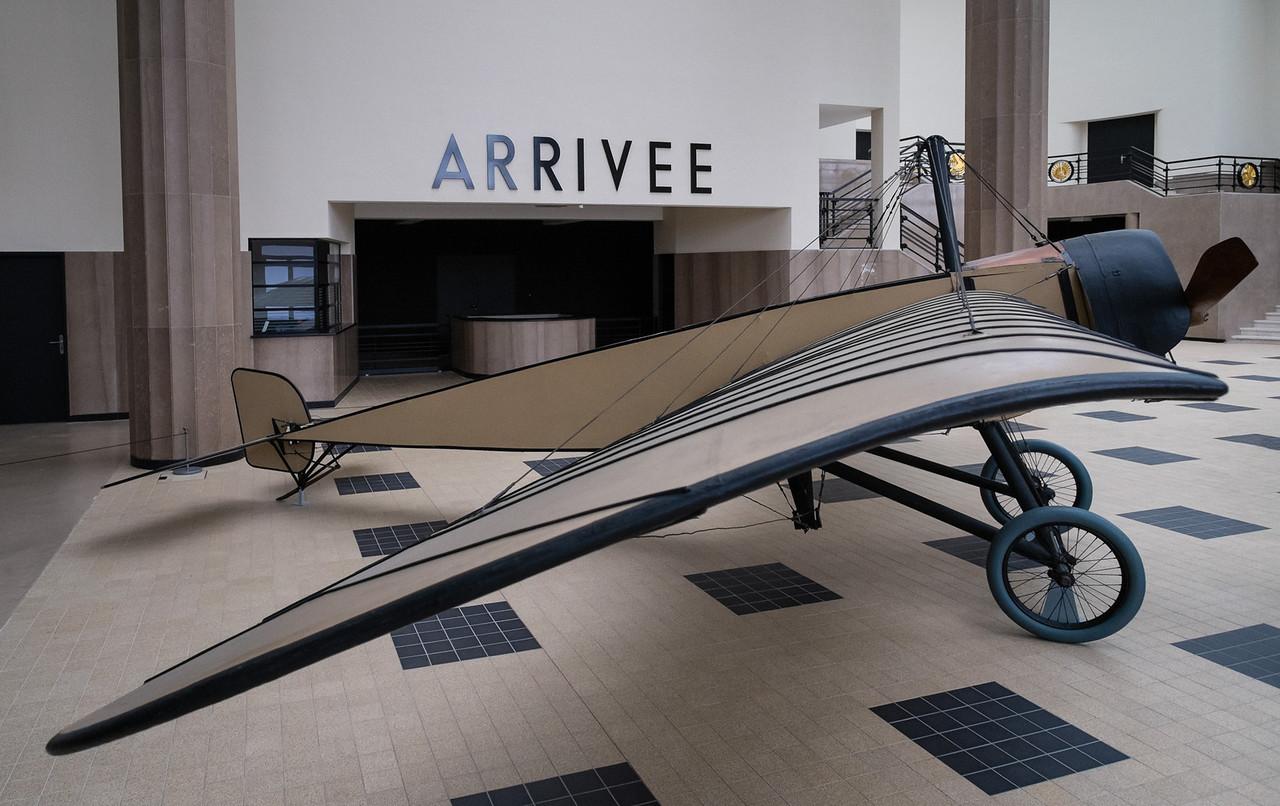 Morane-Saulnier H at Musée de l'air, Paris