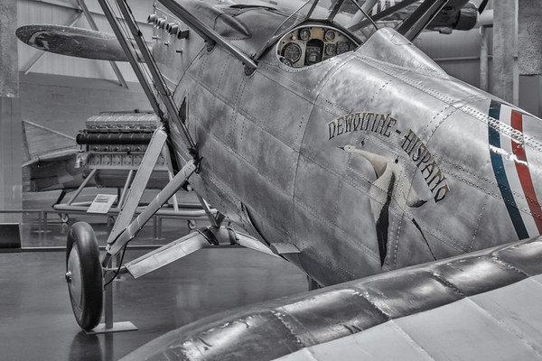 Dewoitine D530 at Le Bourget Air and Space museum