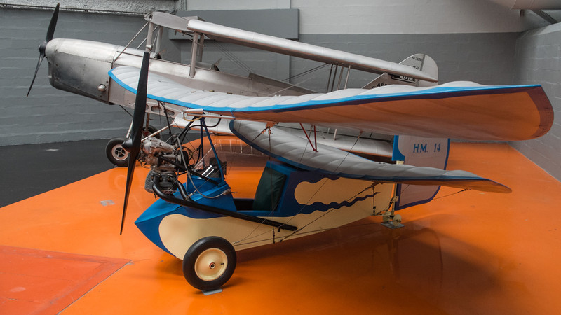 Pou du ciel at Musée de l'air, Paris
