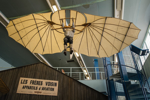 Otto Lilienthal at Musée de l'air, Paris