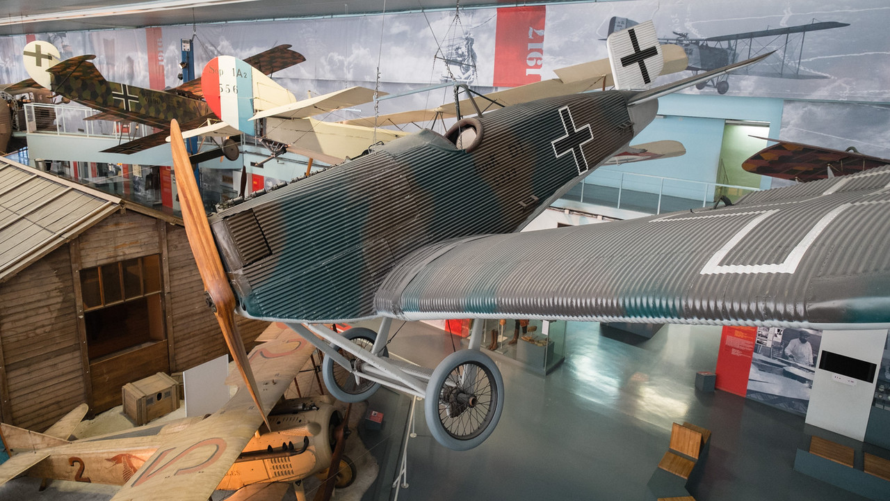JUNKERS J.9 at Musée de l'air, Paris