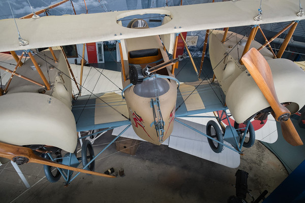 Belgian Farman MF.7 at Musée de l'air, Paris