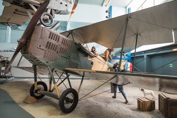 Brequet 14A-2 at Musée de l'air, Paris