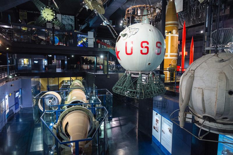 Space section of the Musée de l'air, Paris