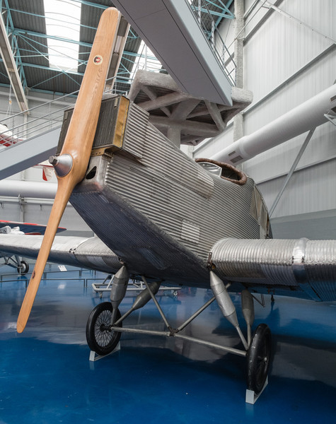 JUNKERS F-13 at Musée de l'air, Paris