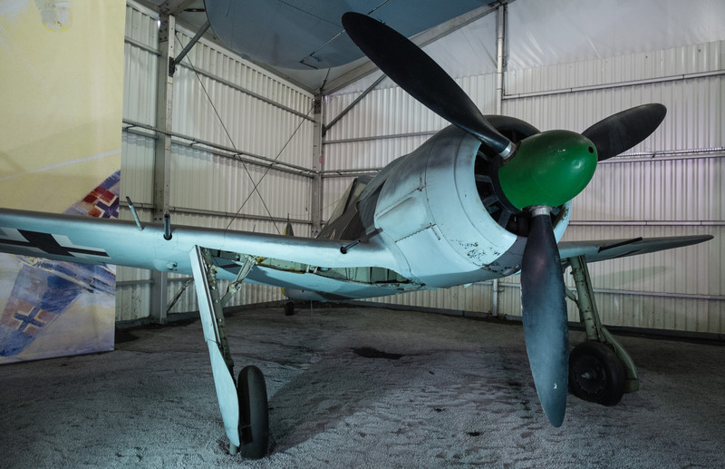 Fw190 A-8 at Musée de l'air, Paris