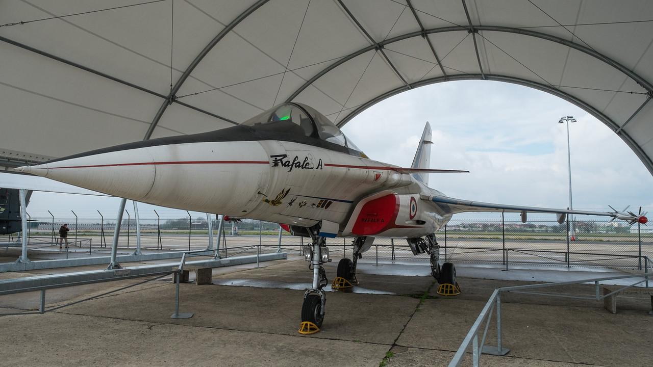 Rafale prototype at Musée de l'air, Paris