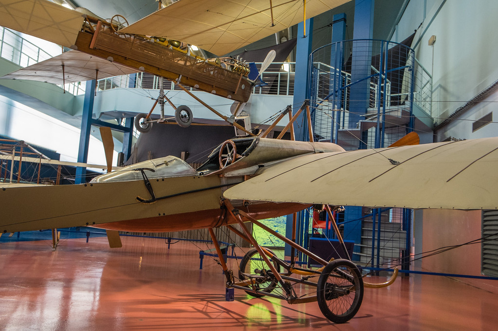 Deperdussin B at Musée de l'air, Paris