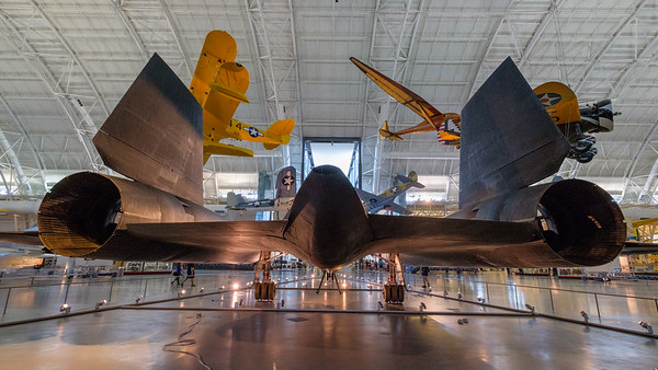 Smithsonian Institution National Air and Space Musuem - Steven F. Udvar-Hazy Center, Dulles airport, Washington, US