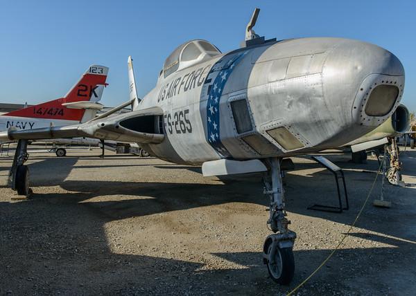 Republic Thunderflash RF-84K