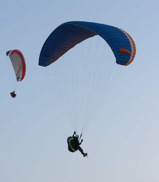 Paragliding at Fossil Rock, UAE